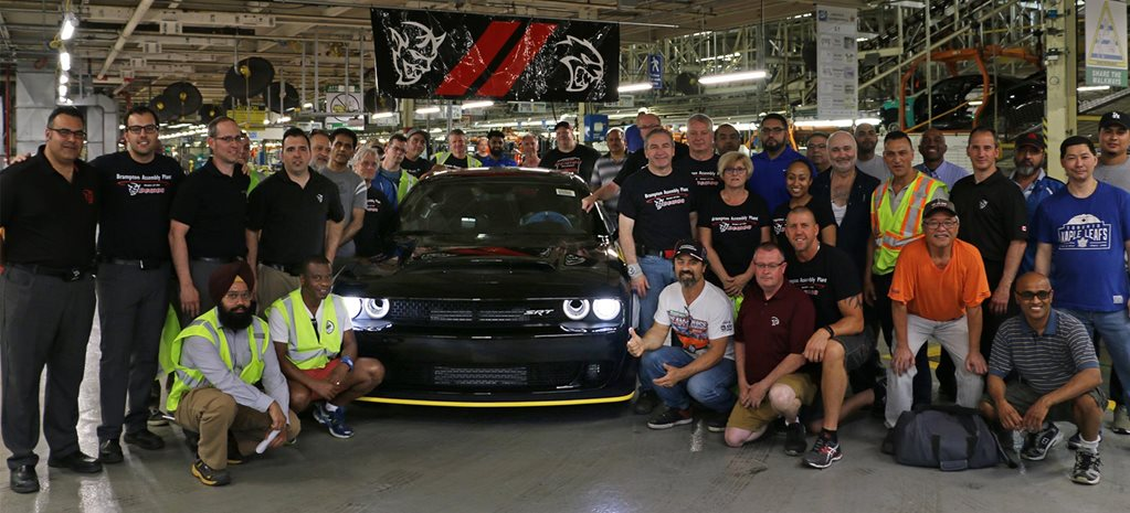 Final 2018 Dodge Challenger SRT Demon built