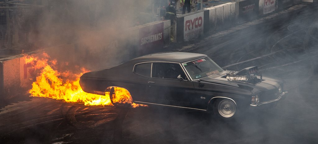 When burnouts go bad part four - video