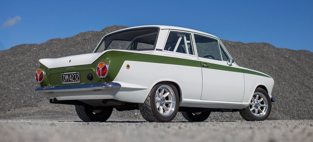 1962 Ford Cortina rear