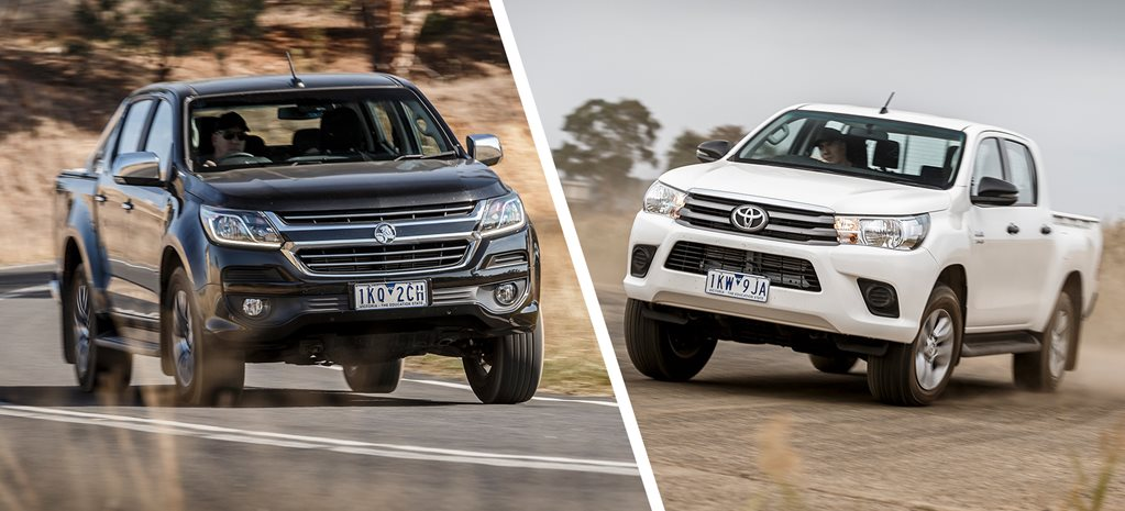 Holden Colorado LTZ Crew vs Toyota Hilux SR
