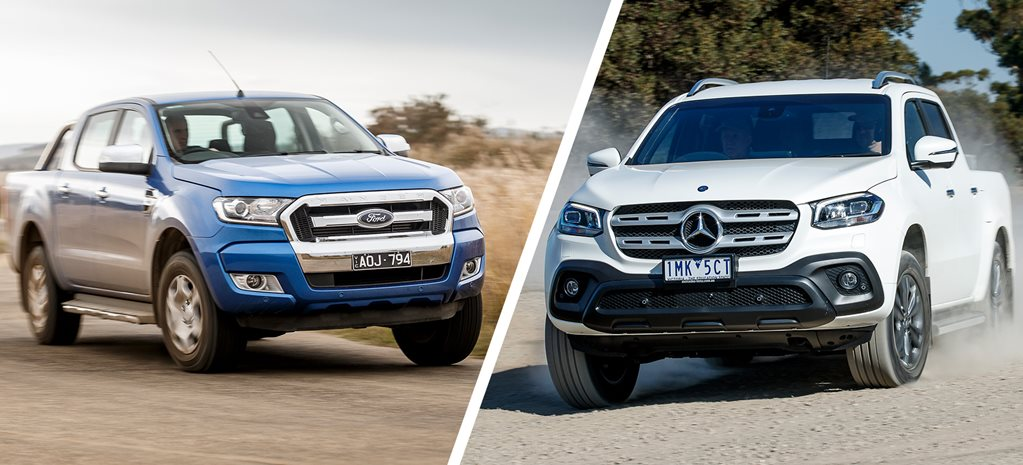 Ford Ranger XLT vs Mercedes-Benz X-Class Progressive