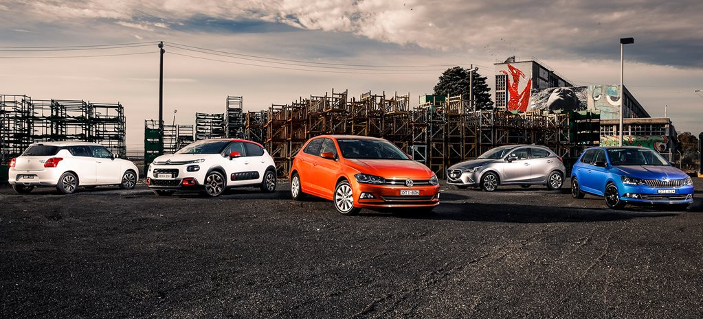 Volkswagen Polo v Mazda 2 v Suzuki Swift v Citroen C3 v Skoda Fabia comparison review