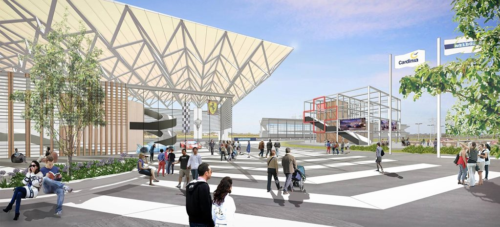 Cardinia Motor Recreation and Education Complex render wide