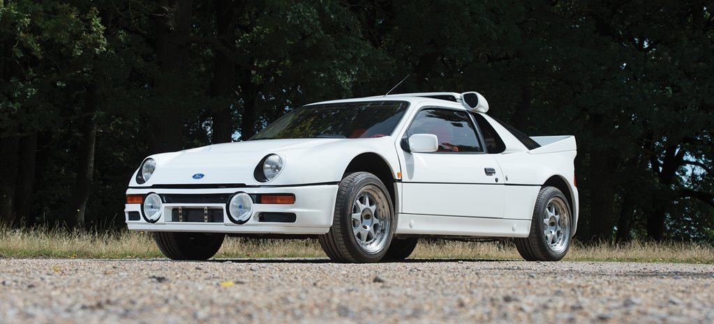 Retro 1984 Ford Rs200