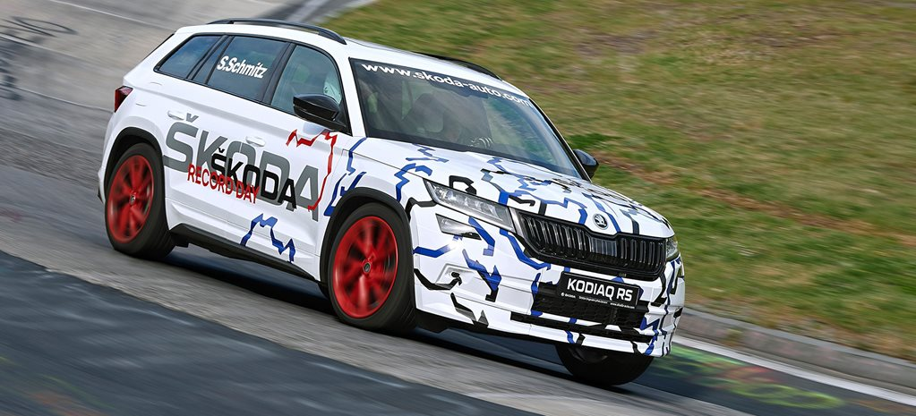 Skoda Kodiaq RS attaqs the Ring and claims new record