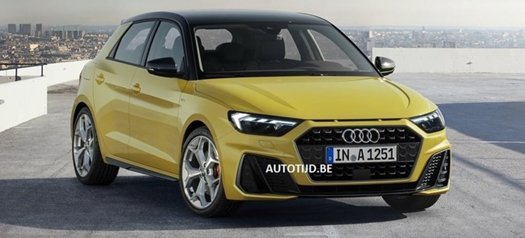 2019 Audi A1 images leaked