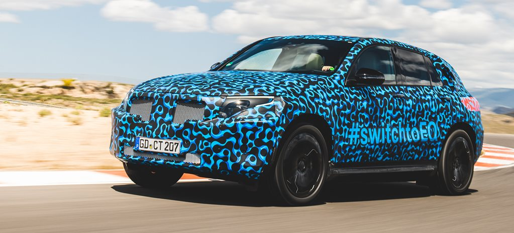 Mercedes-Benz EQC prototype ride