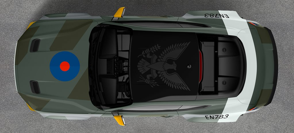 Eagle Squadron Ford Mustang heading to Goodwood