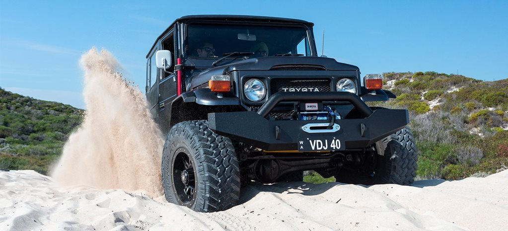 1979 Toyota Land Cruiser BJ40 custom 4x4: Video review