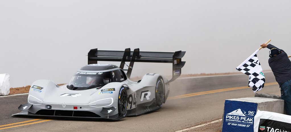 Volkswagen obliterates outright Pikes Peak record while Hamilton cruises to victory