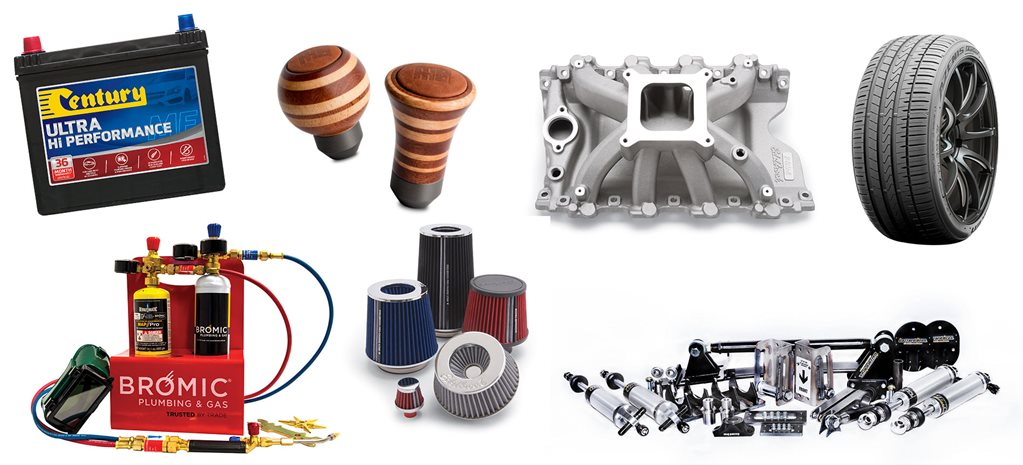 car gear and accessories