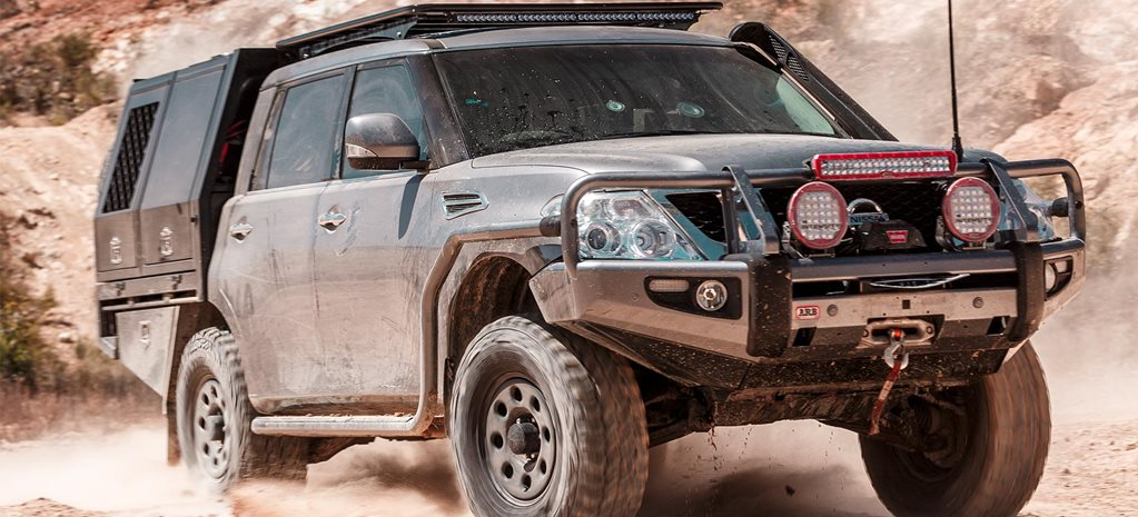 Gallery Chopped Nissan Y62 Patrol feature