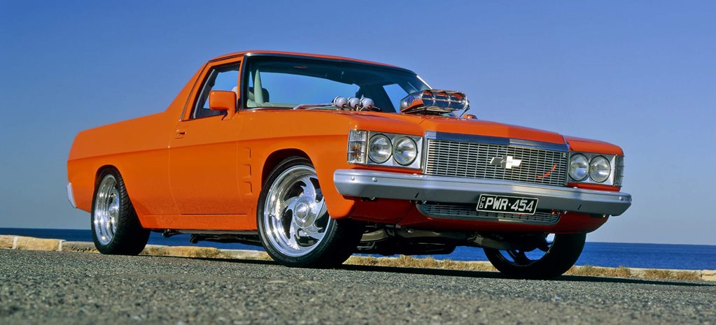 454ci big-block 1972 Holden HQ ute - flashback