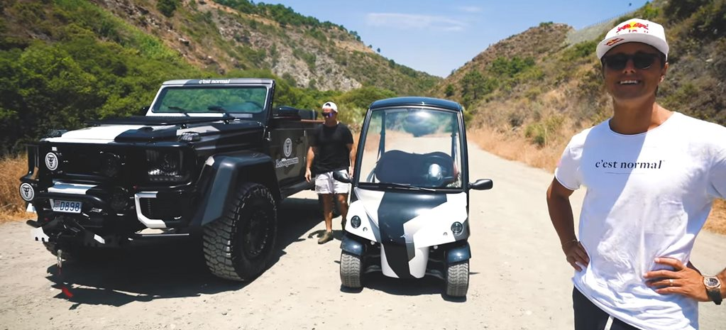 Jon Olsson's Mercedes-Benz G500 4x4² convertible