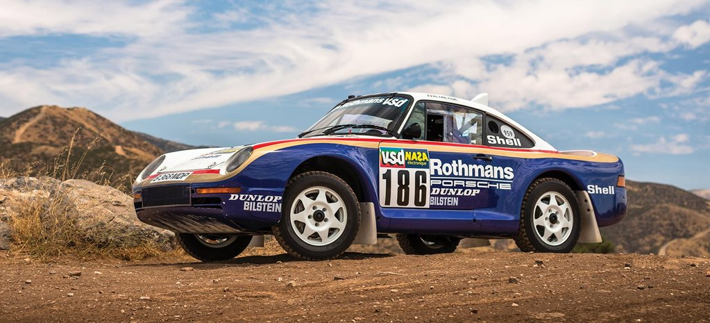 Porsche 959 Paris-Dakar heads to auction news
