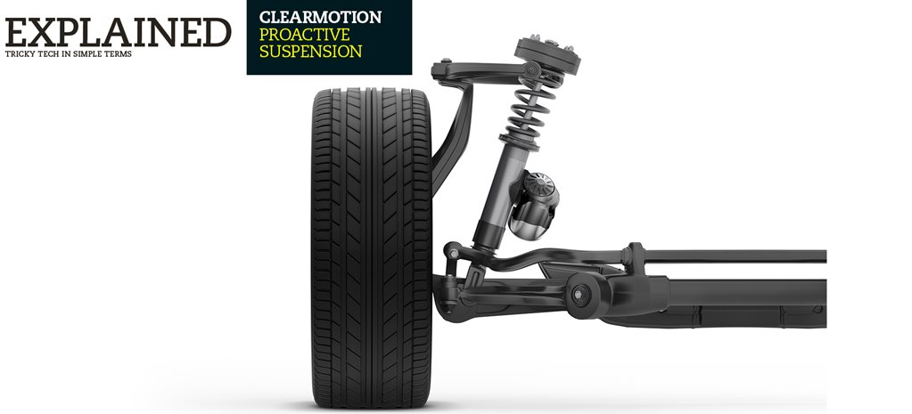 Explained: Clearmotion Proactive suspension
