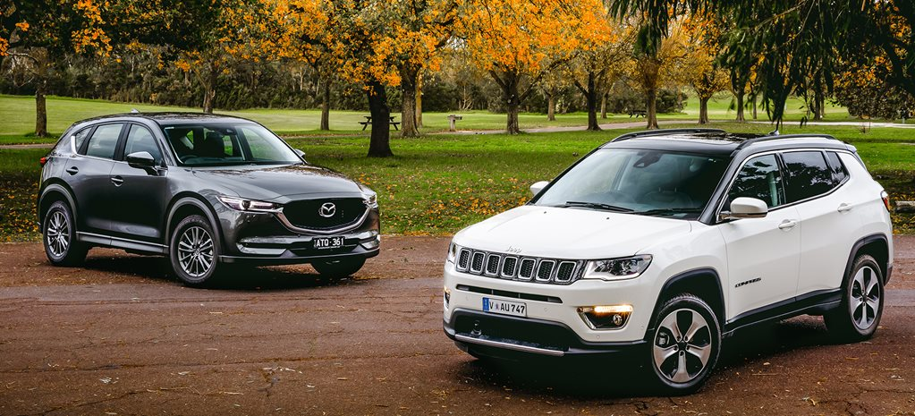 Mazda CX-5 Touring v Jeep Compass Limited comparison review