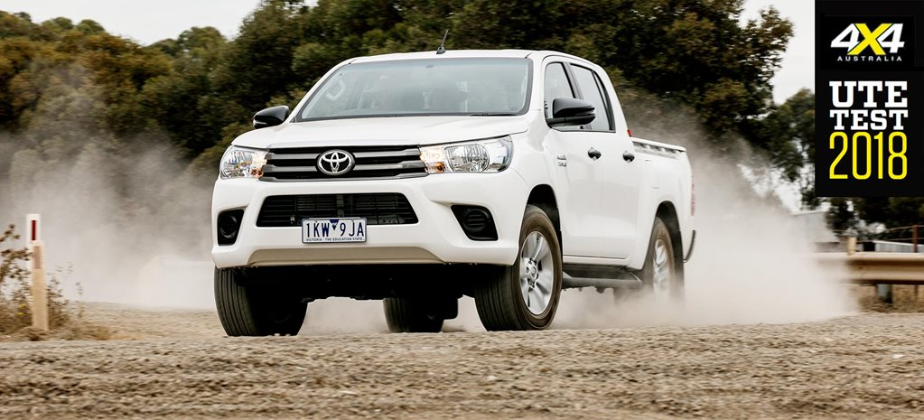 2018 Ute Test Toyota Hilux SR review