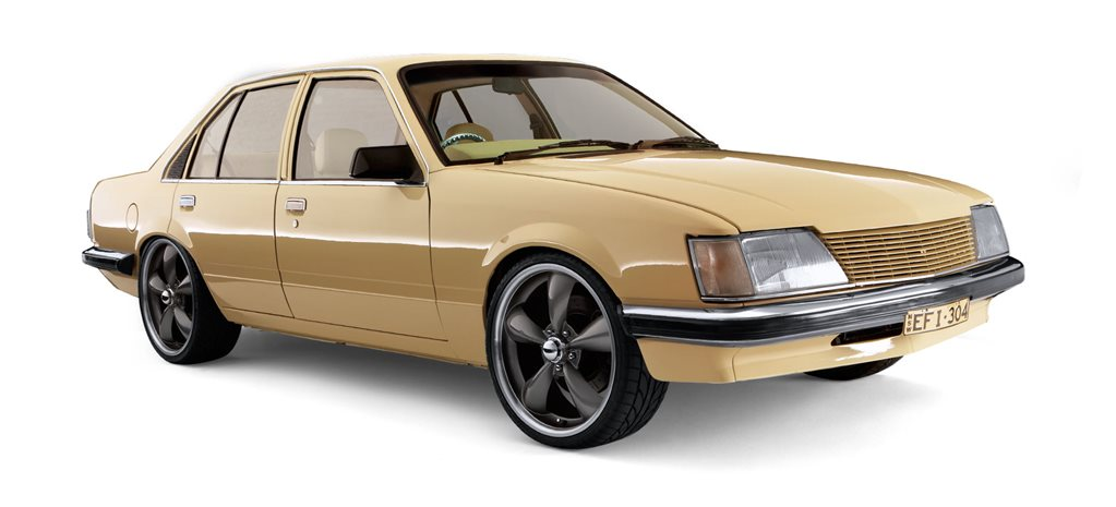 Damien Lowe's budget-built EFI 1983 Holden VH Commodore - flashback
