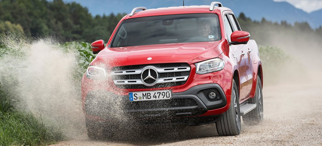 Mercedes-Benz open to V8 X-Class possibility