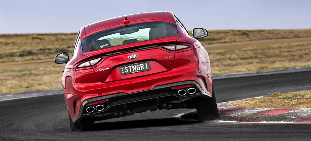 Kia Stinger gets second exhaust option tyre upgrade news
