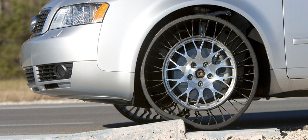 Airless car tyres could become a reality next year