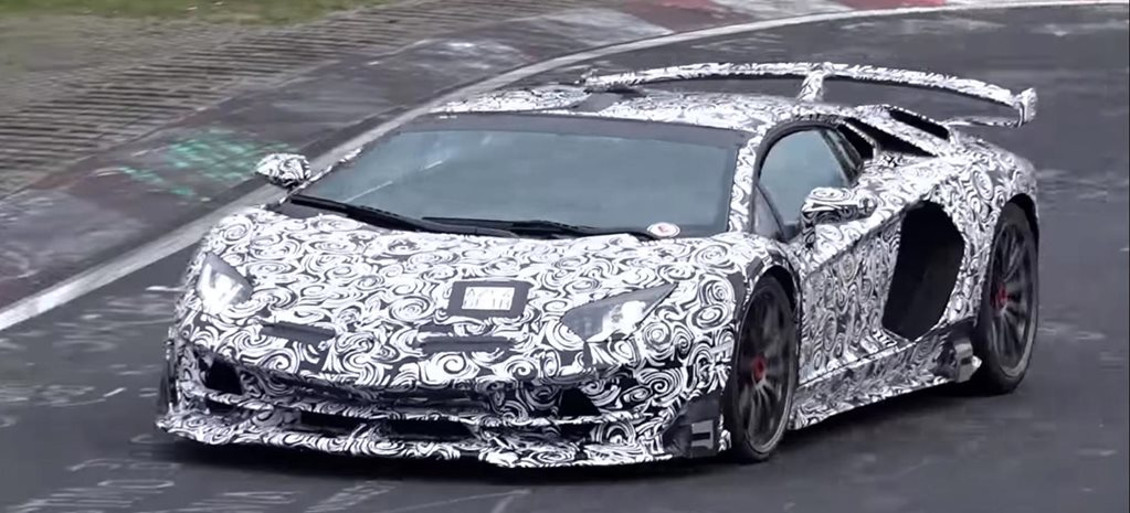 Lamborghini Aventador SVJ could break Nurburgring lap record news