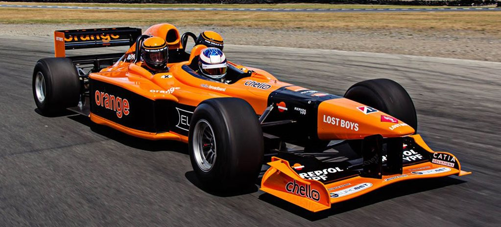 Three-seater Arrows F1 cars for sale