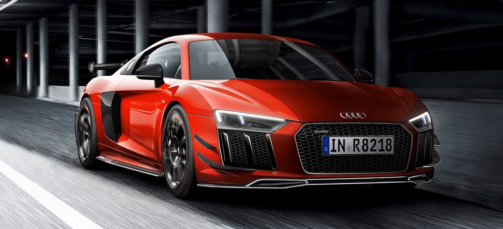 Audi R8 Performance Parts limited editions revealed news