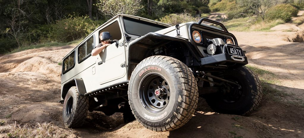 GALLERY: Custom 4x4 Toyota FJ45 Troop Carrier