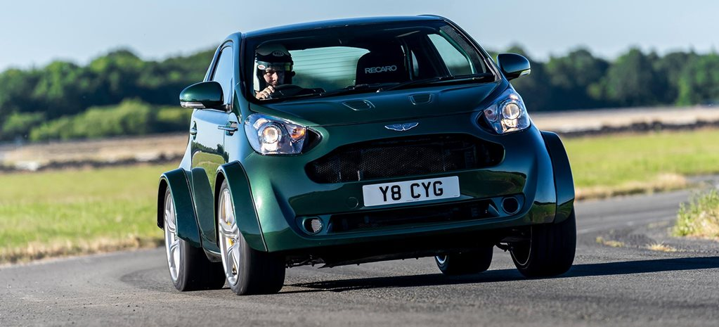 Aston Martin V8 Cygnet revealed at Goodwood news