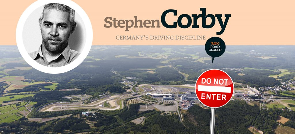 Stephen Corby on Germany's driving discipline