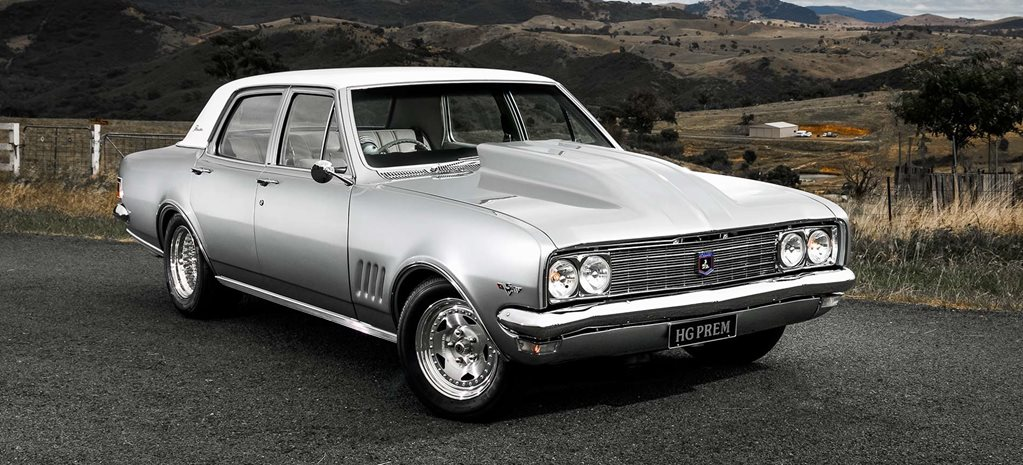468-cube big-block 1970 Holden HG Premier
