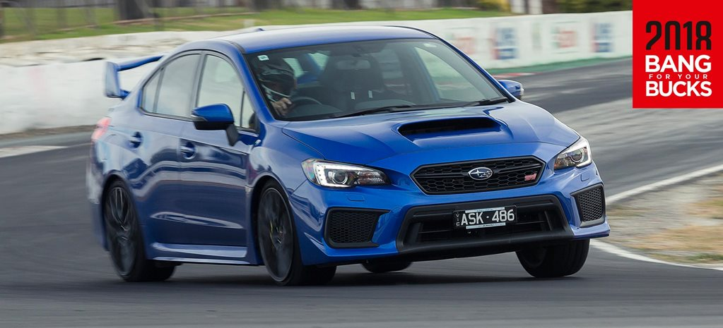 2018 Subaru WRX STI review