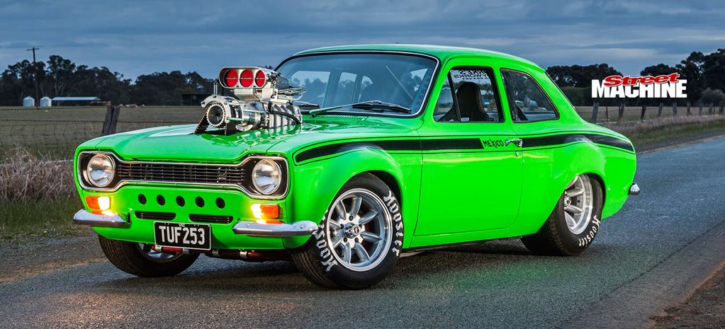 Supercharged Holden 253-powered 1974 Ford Escort Mark I - TUF253