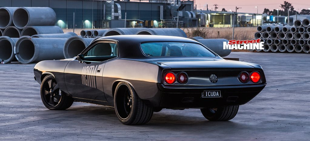 Ray Barton 604ci Hemi-powered 1974 Plymouth Barracuda