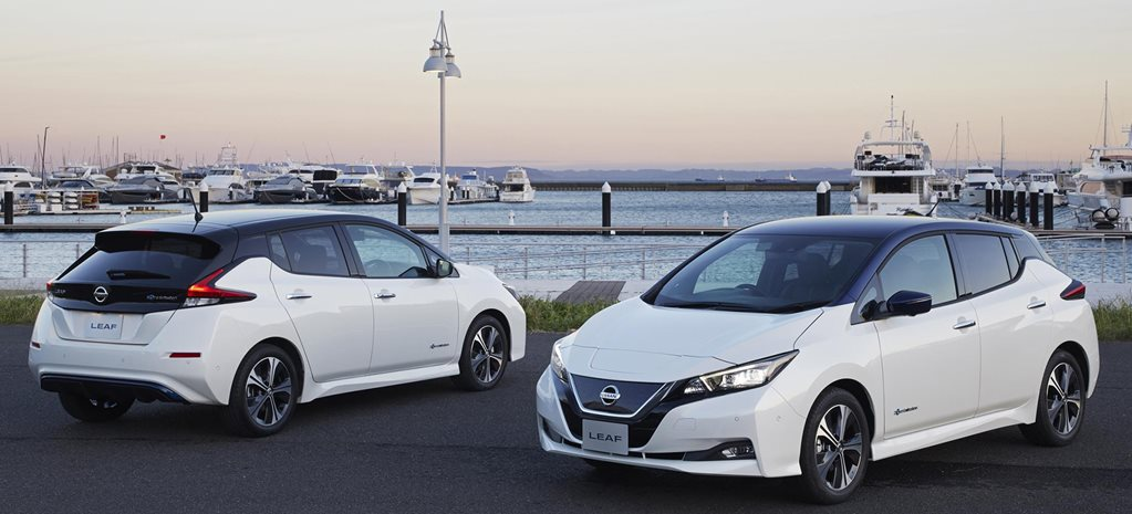 Nissan Leaf E-Plus to extend range, add power