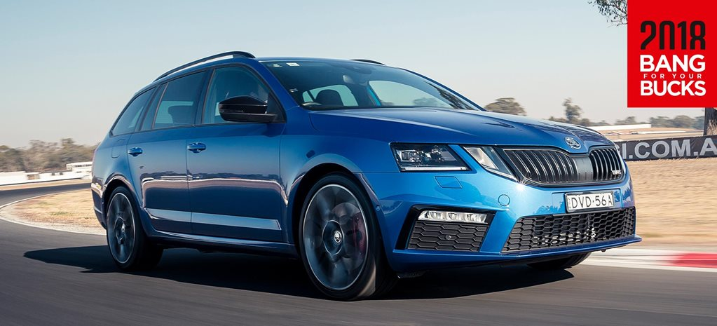 2018 Skoda Octavia RS track review