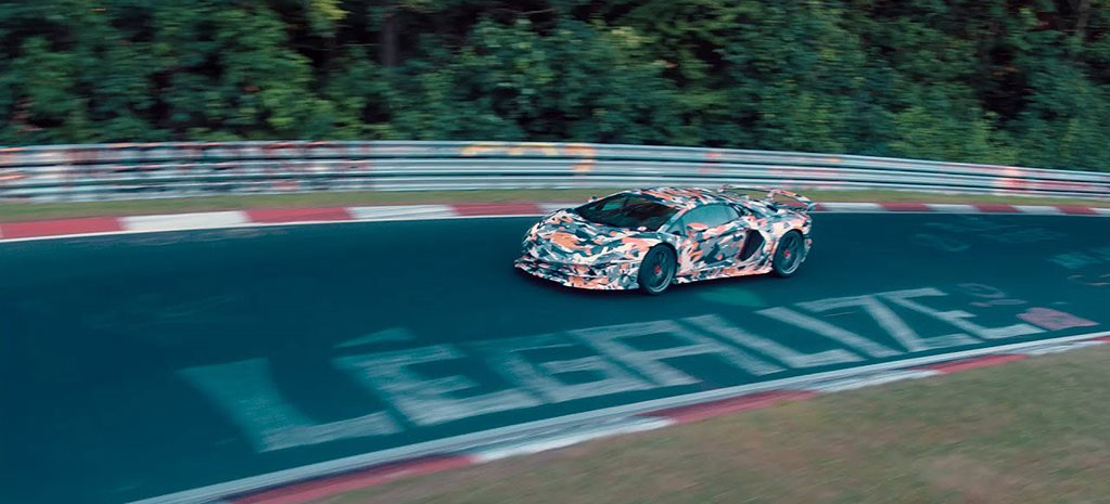 Lamborghini Aventador SVJ performance flagship outed online