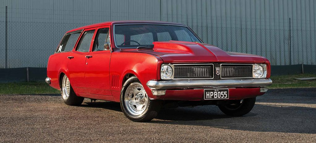 Twin-turbo LS-powered 1970 Holden HG Kingswood wagon