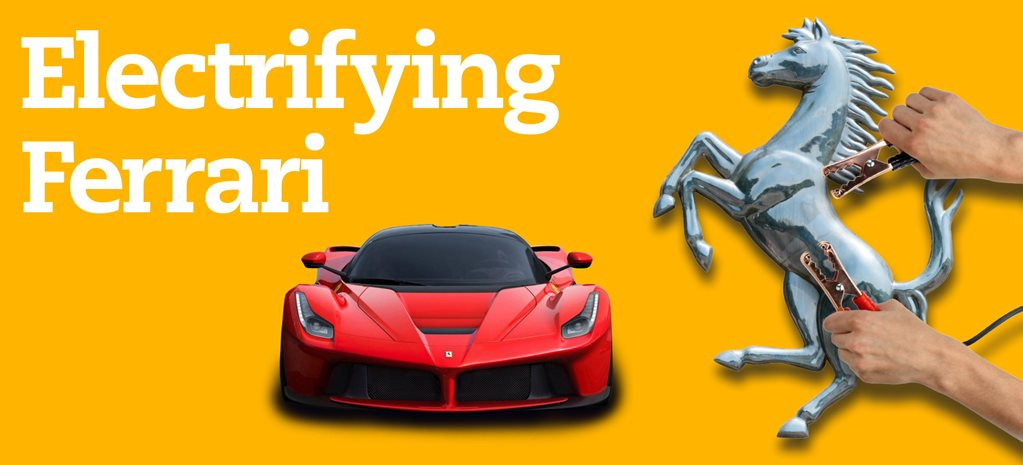 Electrifying Ferrari: Maranello's plug in future