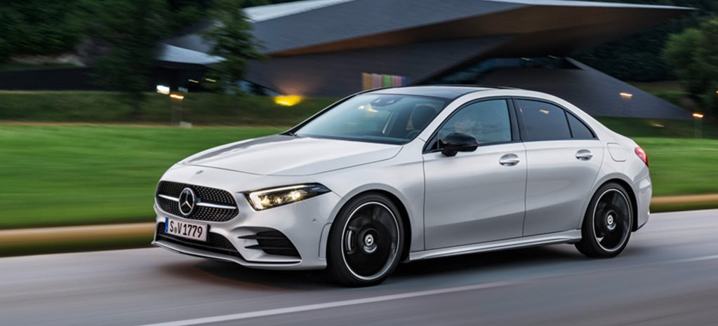 2019 Mercedes-Benz A-Class sedan unveiled