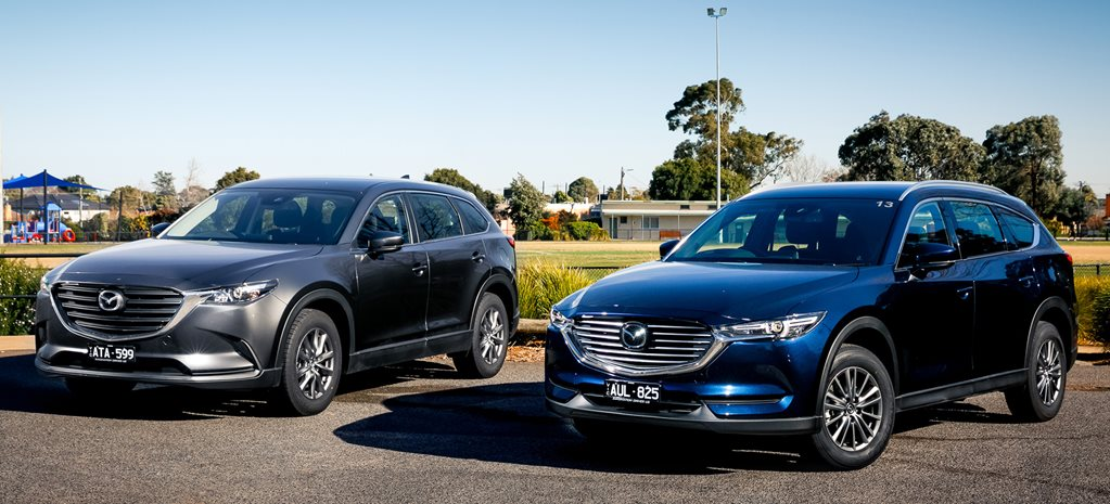 Mazda CX-8 vs CX-9: What's the difference?
