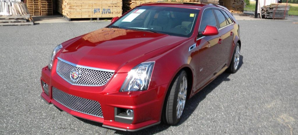 New' 2014 Cadillac CTS-V Wagon selling for $114K+