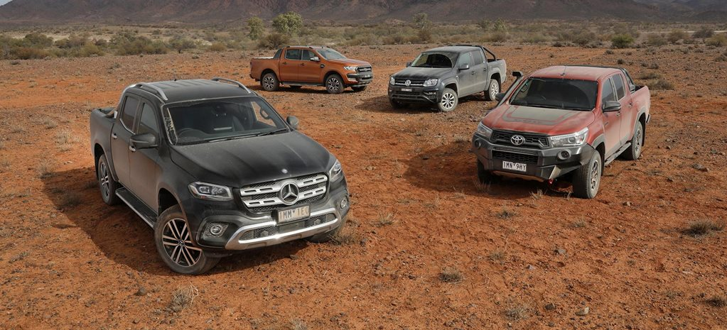 2018 Ford Ranger vs Mercedes X-Class vs Toyota Hilux vs VW Amarok comparison review