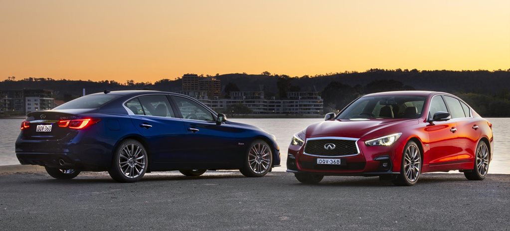 2018 Infiniti Q50 and Q60 updated with simplified range, lower pricing