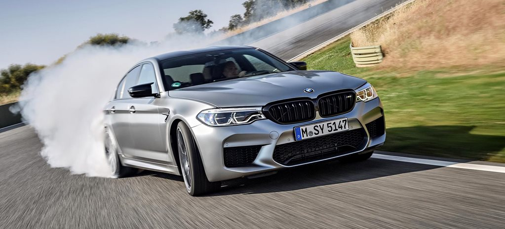 2018 BMW M5 Competition performance