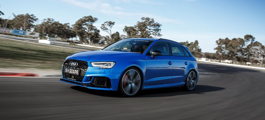 2018 Audi RS3 APR Stage 1 tune review