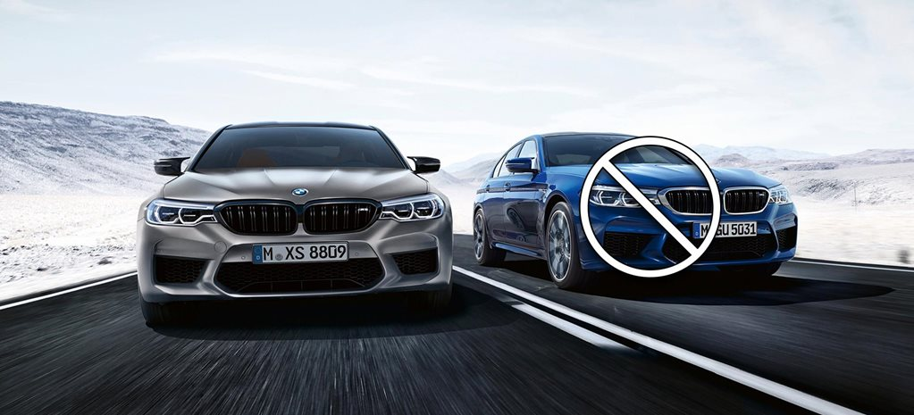 BMW M5 Competition replaces standard M5 in Australia news