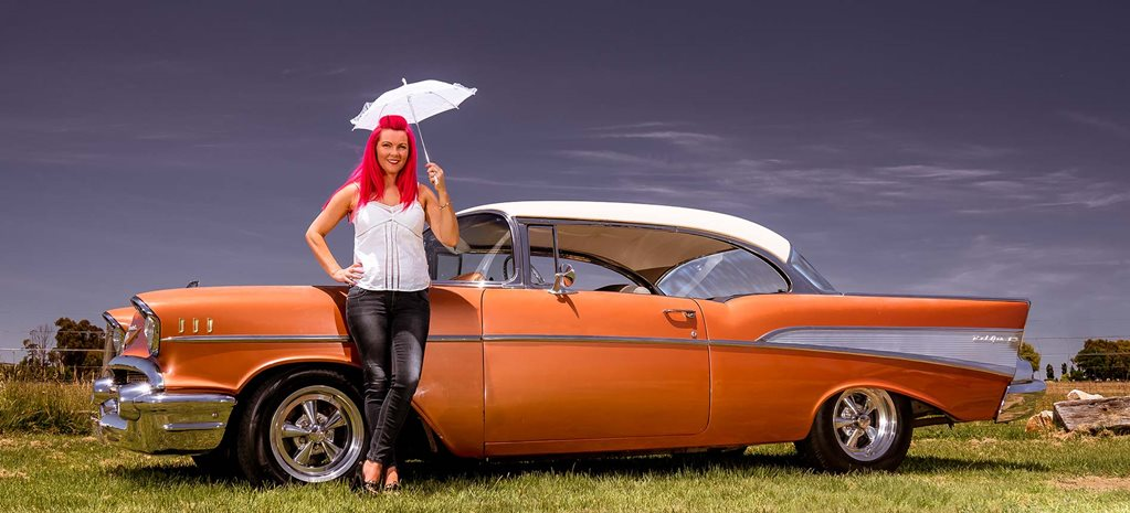 Ebony Cassar's Chev Bel Air